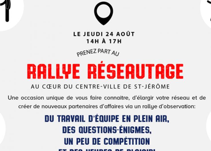 Rallye Réseautage
