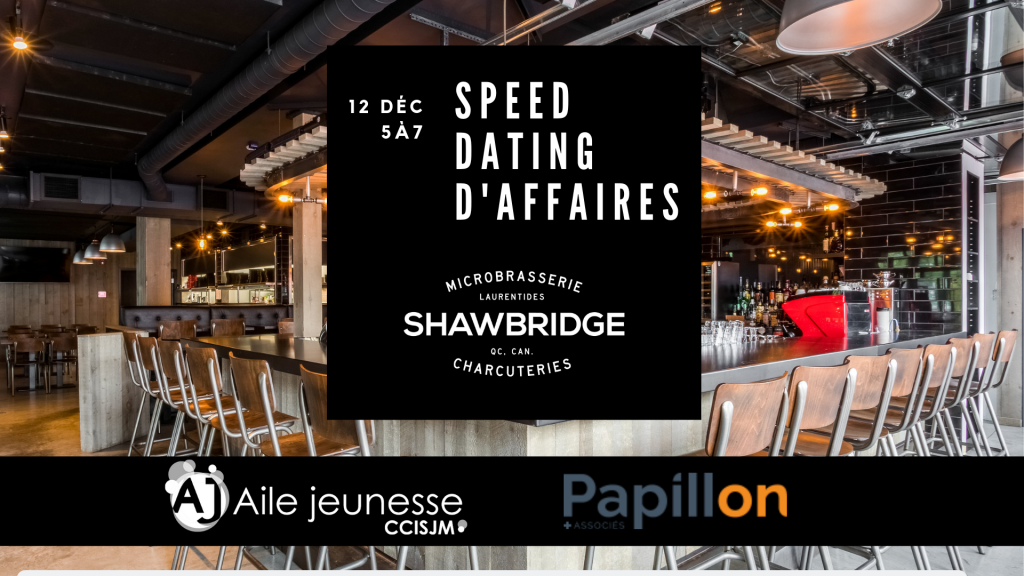 Speed dating daffaires