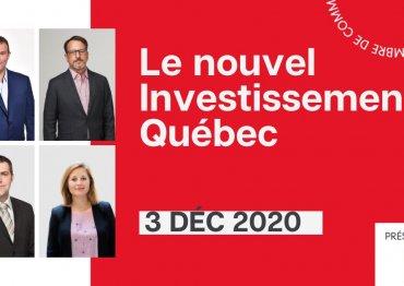 Le nouvel Investissement Québec